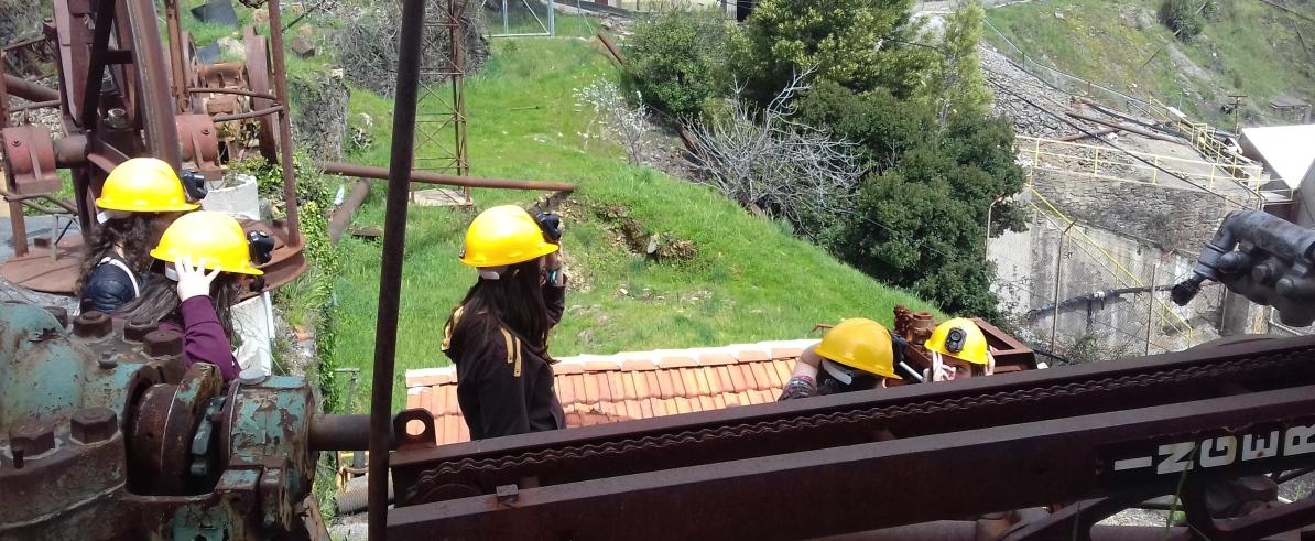 Visita de estudo às Minas da Panasqueiras e CBD de Castelo Branco
